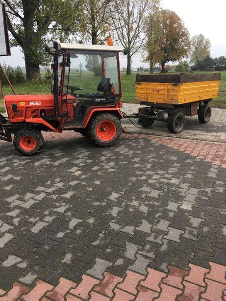 Traktorek Hako 4x4