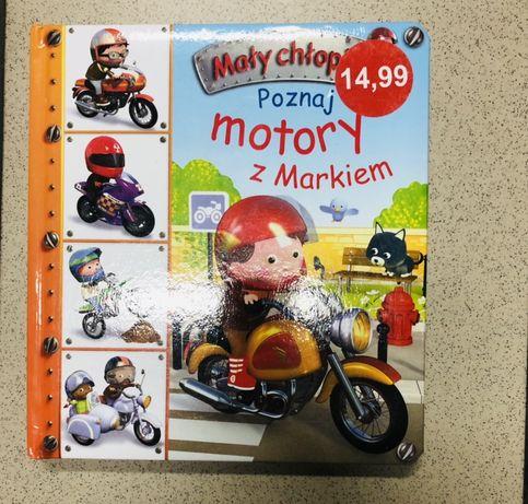 Mały chłopiec motory z Markiem