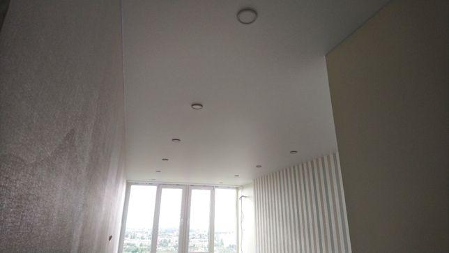 Тканевые натяжные потолки под покраску