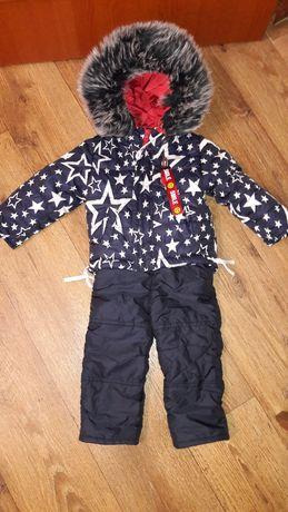 зимний костюм для мальчика 1-2 года