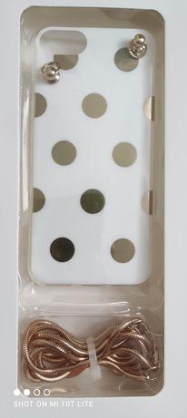 casy na iPhone 7/8 z łańcuszkiem
