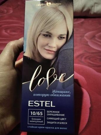 Стойкая крем -краска  ESTEL( жемчюжный блондин)