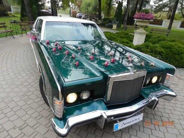 Samochód, auto do ślubu, na wesele, zabytki, piękne