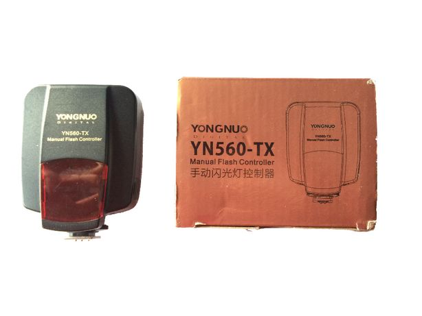 Kit Flash Yongnuo - 3 Flashes + Controlador YN560-TX p/ Nikon