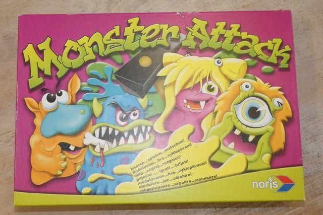 Gra planszowa Monster Attack firmy NORIS