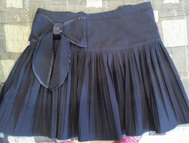 Юбка (школьная форма)+Блуза(НОВАЯ)