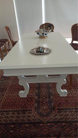 Mesa sala de jantar branca