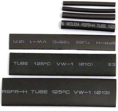 Mangas termicas para isolamento de cabos eletricos