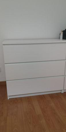Comoda MALM branca IKEA (2)