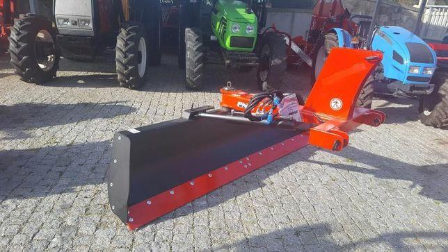 Rodo pá niveladora reforçado Novo 2.50 m hidraulico