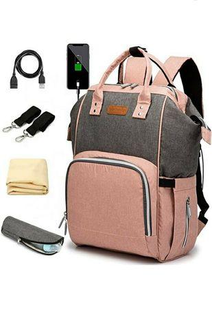 Продам новую сумку рюкзак для мамы!