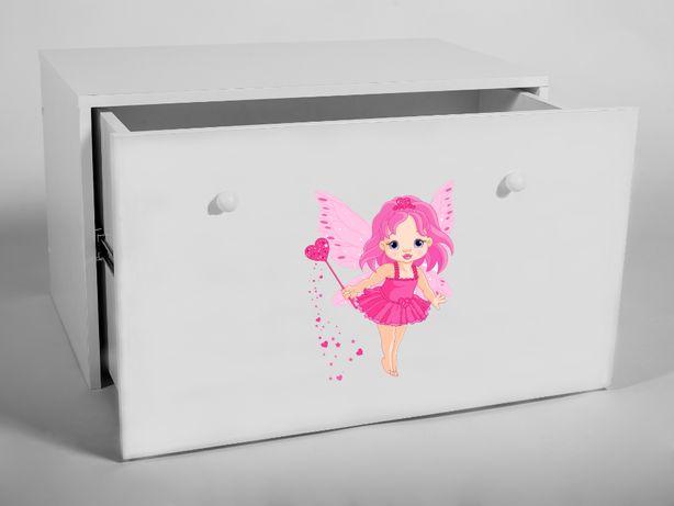 Skrzynia kufer pojemnik na zabawki INGA Grafiki dostawa Gratis