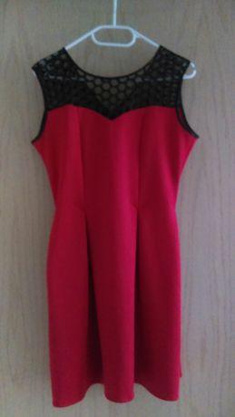 Śliczna Czerwona Sukienka Krist