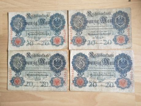 Stare banknoty Niemcy