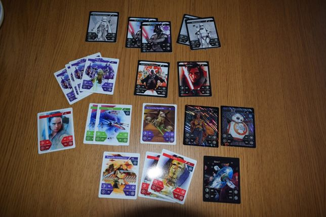 Star Wars Gwiezdne Wojny - karty Kaufland