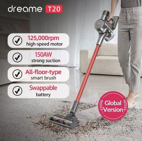 Odkurzacz pionowy Dreame T20 - nowy, gwarancja