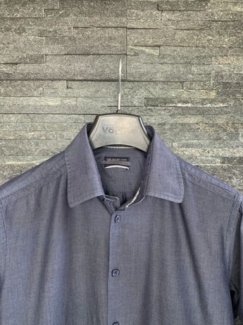 r. L / TOP SECRET elegancka koszula SHAPED FIT