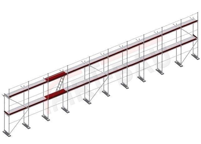Rusztowanie Rusztowania Nowe typ PLETTAC 200 m2 OKAZJA OKAZJA OKAZJA