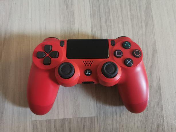Oryginalne pady Sony dualshock 4 v2 biały i czerwony