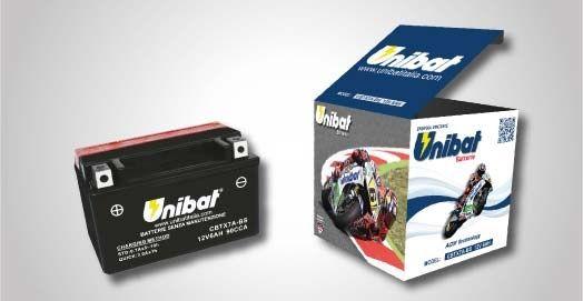 Akumulator UNIBAT Motocykl motor Jasło !!!