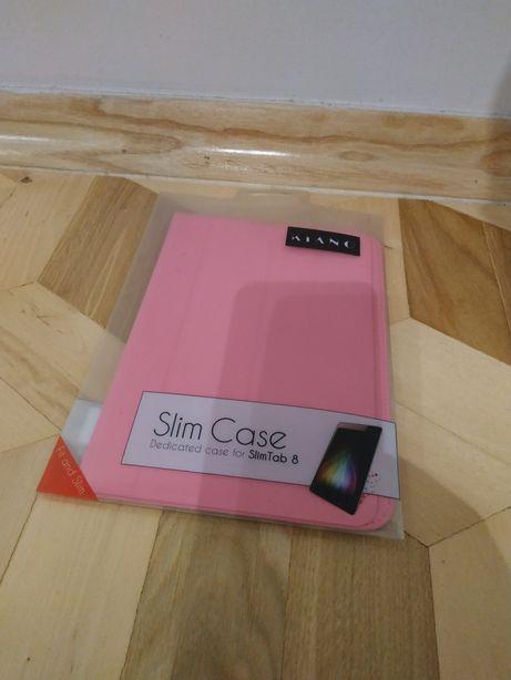 Pokrowiec na czytnik 5ablet ebook 8cali 14x20cm różowy