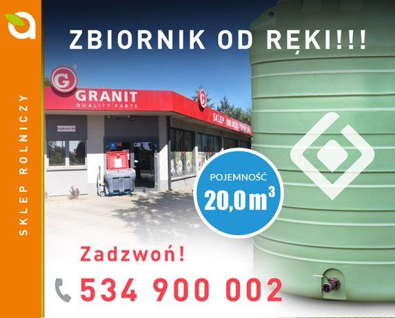 Zbiornik do nawozów płynnych RSM SWIMER 20.000l, SZYBKA REALIZACJA