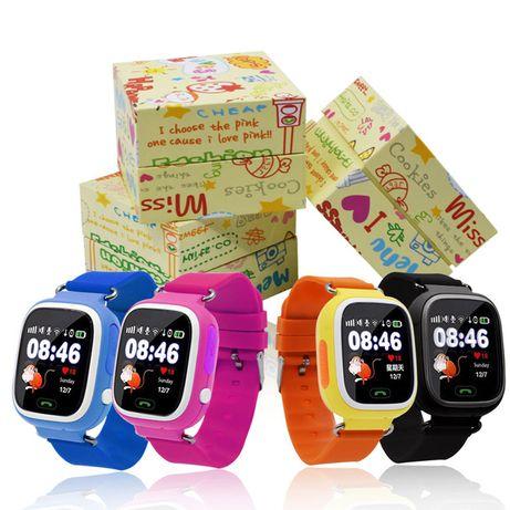 Smartwatch Q90 zegarek dla dzieci z GPS + WIFI POLSKIE MENU