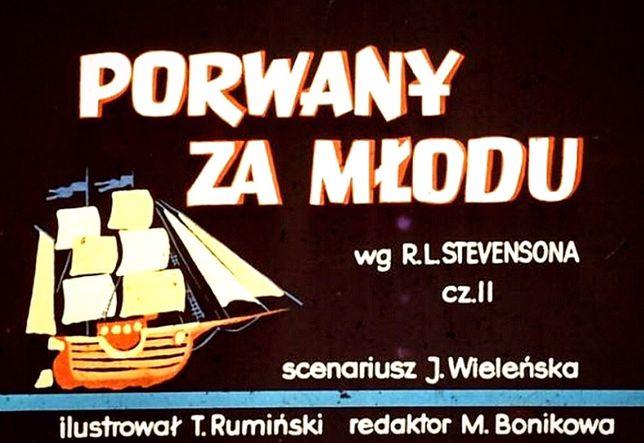 Bajki na rzutnik, projektor, diaskop Ania Jacek PRL