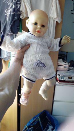 "boneca brintói antiga, ""Made in Portugal"""