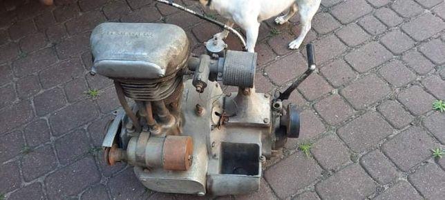 Silnik BMW R35 stan oryginalny 1947 r + skrzynia biegów + gaźnik SUM
