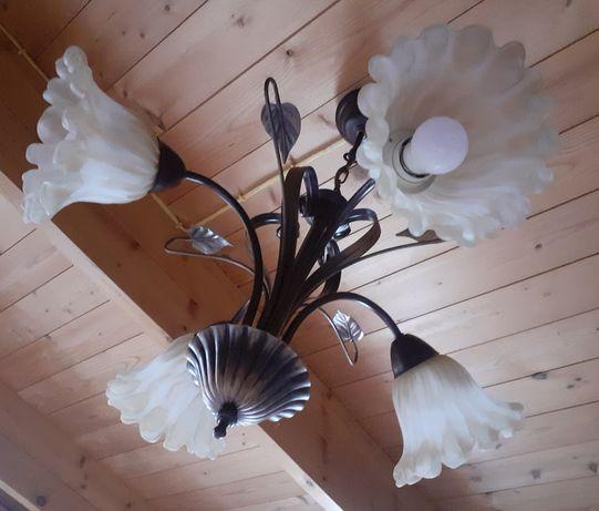 Lampa sufitowa 4 ramienna