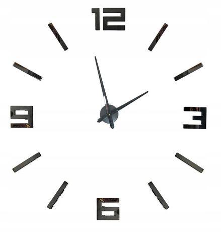 Zegar Ścienny Naklejany 3D Nowoczesny
