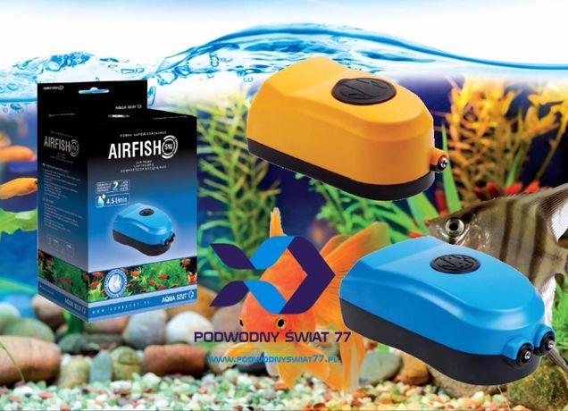 Aqua Szut Napowietrzacz AIRFISH 2W - Nowa 2l gwar - akwarium