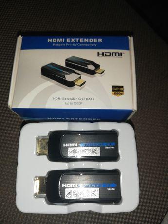 PRO SIGNAL PSG3084   Przedłużacz 1080p Full HD HDMI na Cat6 / Cat7, 5