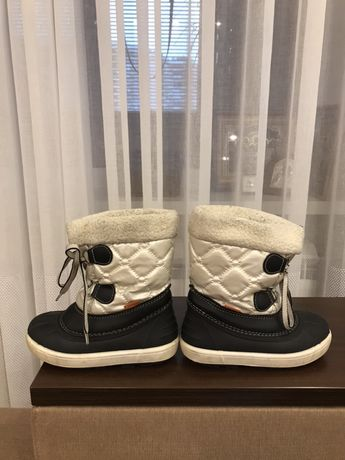 Ботинки зимние Demar Польша размер 26-27 отличное состояние