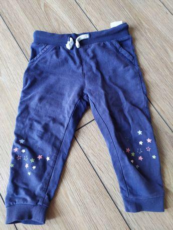 Spodnie dla dziewczynki rozmiar 86