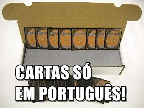 700 Cartas Magic The Gathering MTG em Português!