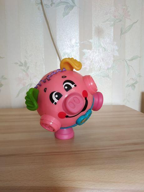 Танцующая свинка