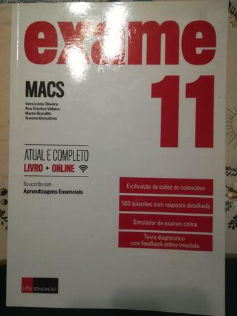Livro de exame MACS 11 ano