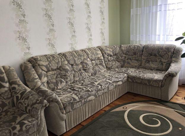 Кутовий диван + крісло