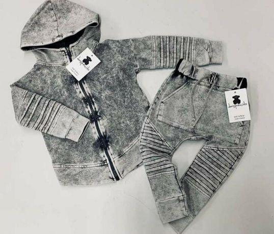 Dres dekatyzowany despacito bluza i spodnie