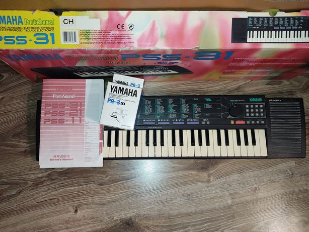 Синтезатор Yamaha Porta Sound PSS-31