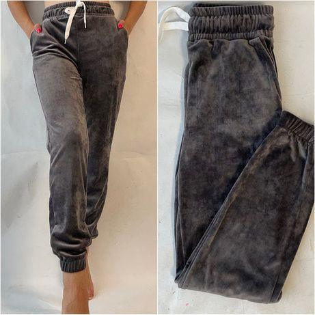 Велюровые штаны