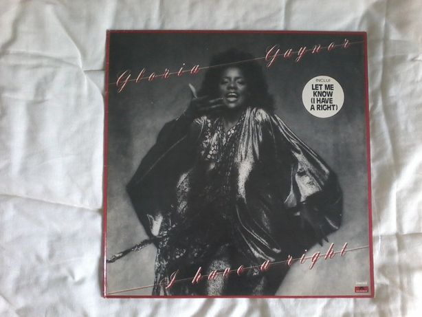 LP - Gloria Gaynor ‎– I Have A Right - VINIL