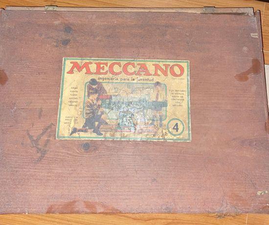 Meccano construcoes vintage