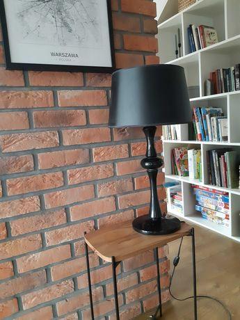 Lampa czarna industrialna