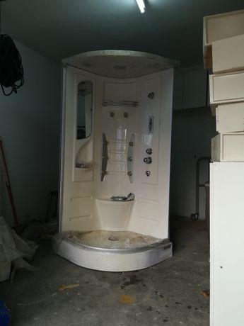 Cabine de duche e hidromassagem