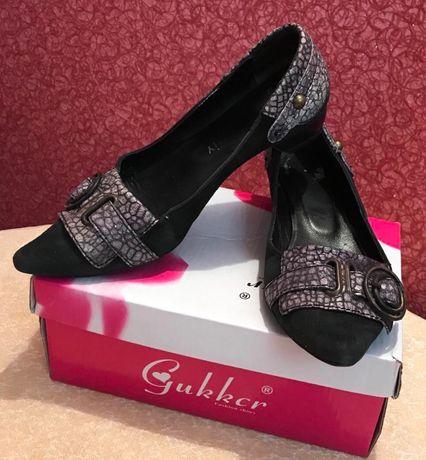 Женские туфли,балетки,натур.замша