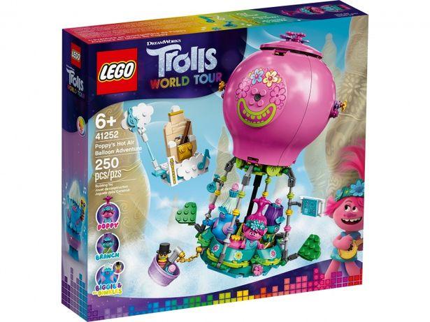 Lego 41252 Trolls путешествие розочки на воздушном шаре. Тролли