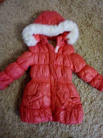 Зимова куртка зимове пальто для дівчинки